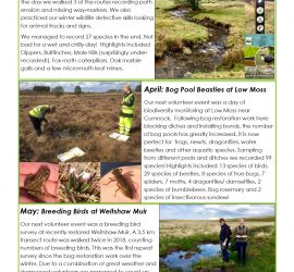 Volunteer Newsletter Spring & Summer 2019 p2